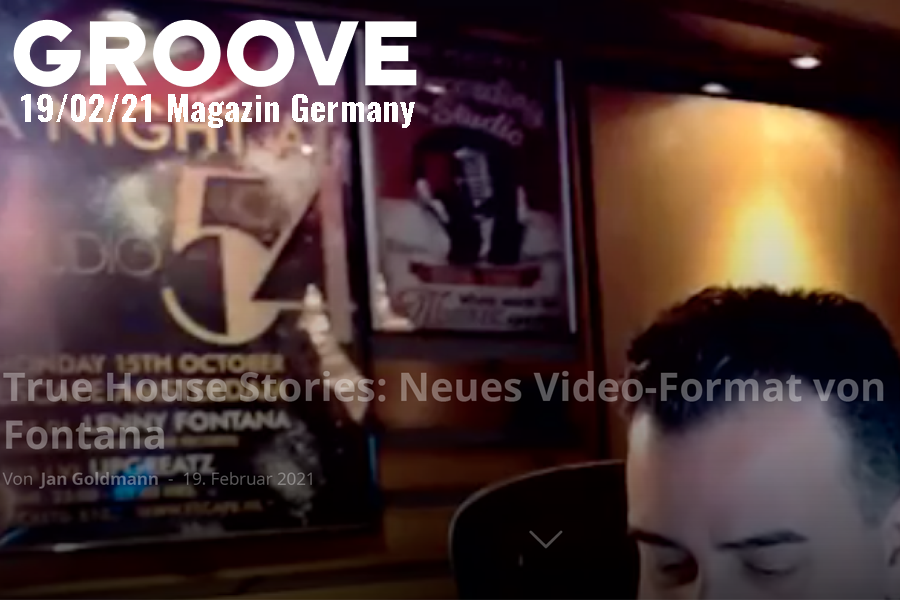 Groove Magazin article True House Stories by Lenny Fontana